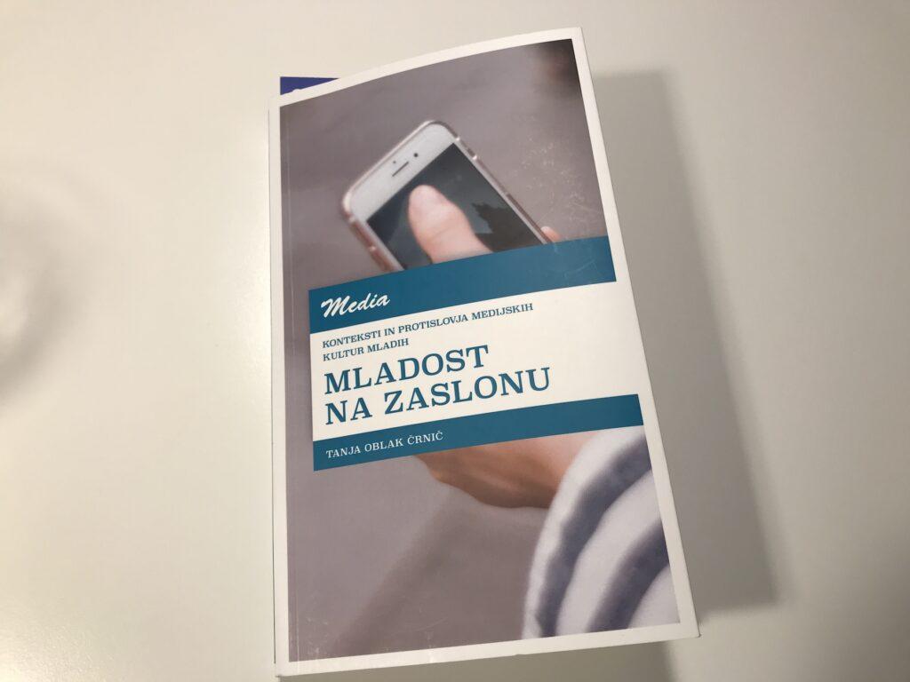 Naslovnica knjige Mladost na zaslonu